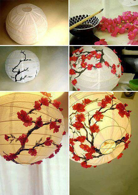 DIY Paper Lanterns and Lamps18