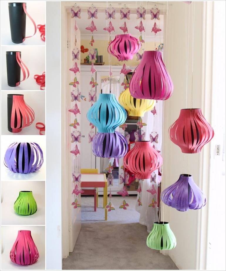 DIY Paper Lanterns and Lamps23