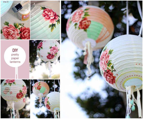 DIY Paper Lanterns and Lamps28