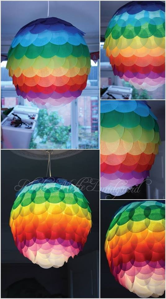 DIY Paper Lanterns and Lamps9