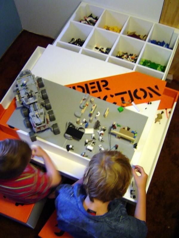 DIY Repurposed Lego Table Ideas