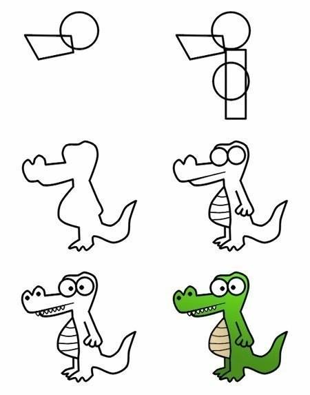 How To Draw Zoo Animals Easily