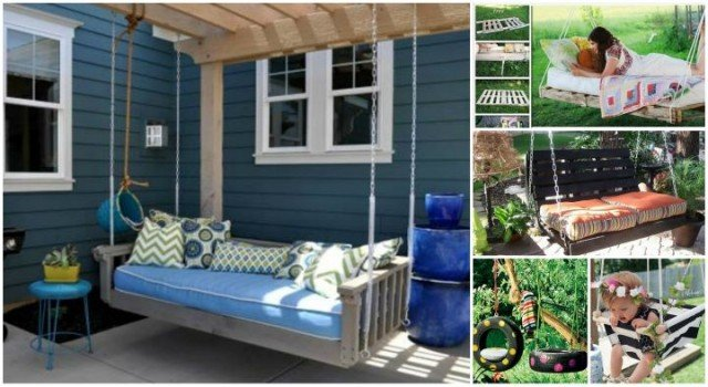 Fabulous DIY Patio and Garden Swings