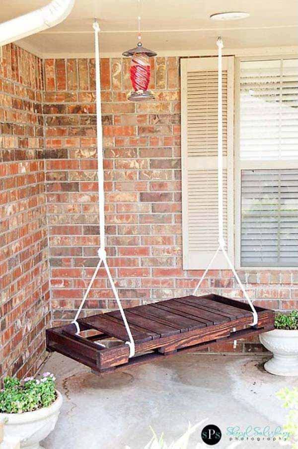 Fabulous DIY Patio and Garden Swings02