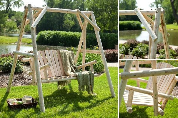 20 Fabulous DIY Patio and Garden Swings