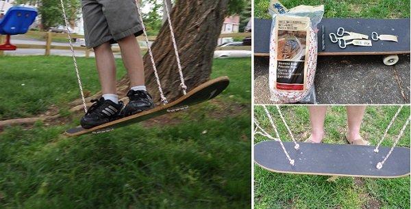 Fabulous DIY Patio and Garden Swings05