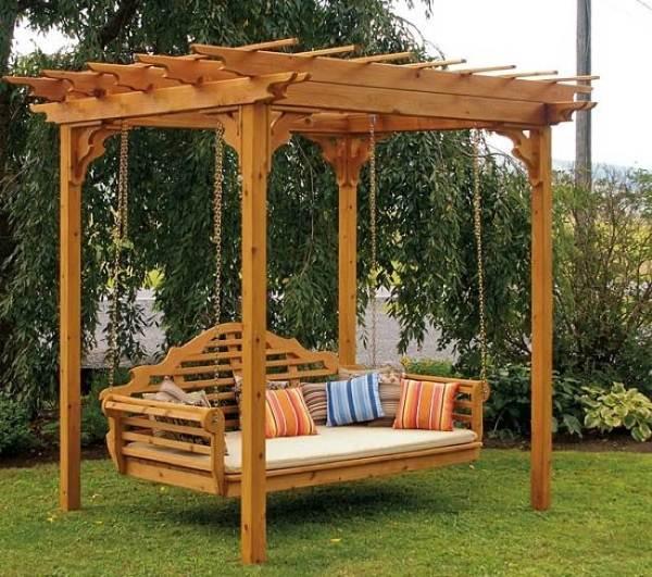 Fabulous DIY Patio And Garden Swings21