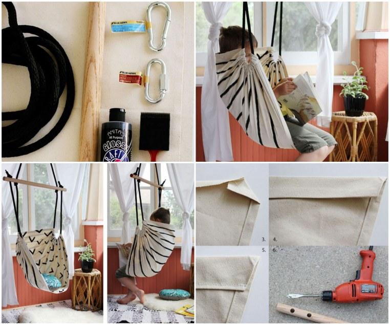 Fabulous DIY Patio and Garden Swings26