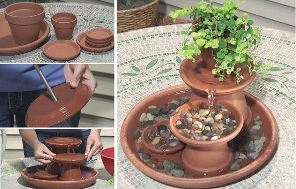 How To Build A Terra Cotta Fountain
