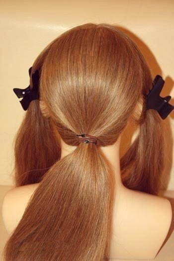 How to DIY Chic Wedding Hairstyle2