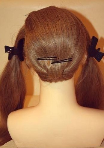 How to DIY Chic Wedding Hairstyle3