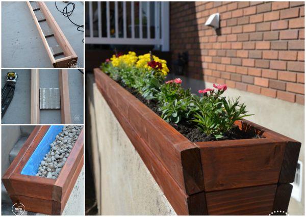 How to DIY Vertical Wall Garden Planter2