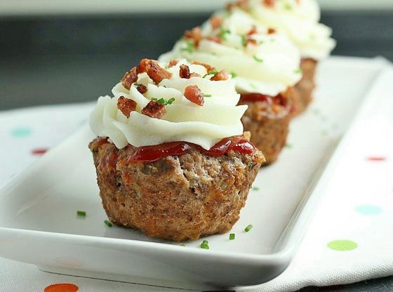 Vegetable Meatloaf Muffins3
