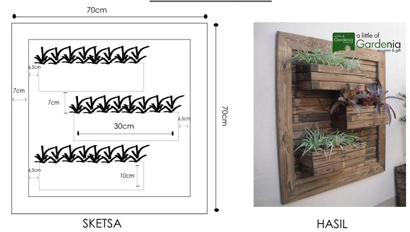 Vertical wall planter plans