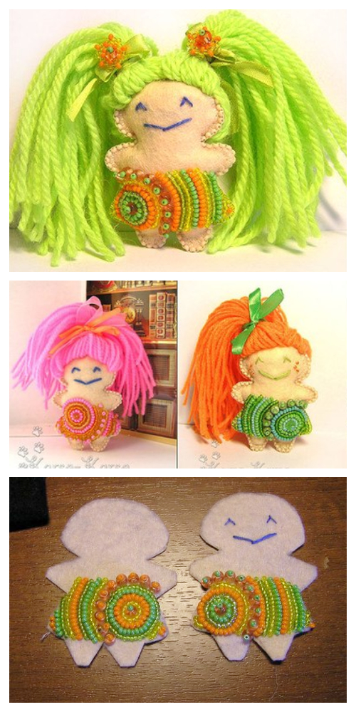 DIY Yarn Dolls Tutorial - Easy & Fun