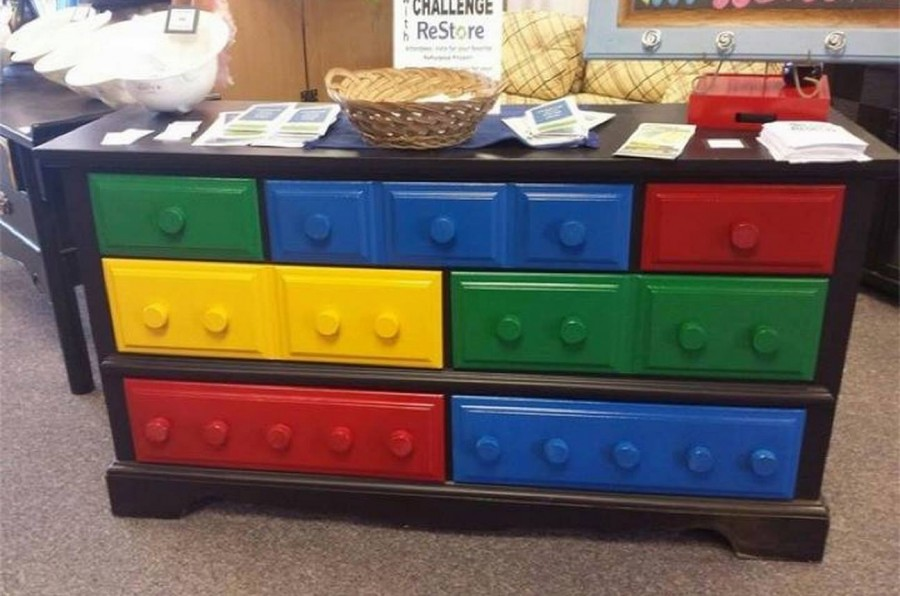 Childrens Animals Storage Box Chest 3 Kids Drawer Bedroom: 20+ Fabulous DIY Ideas And Tutorials To Transform An Old