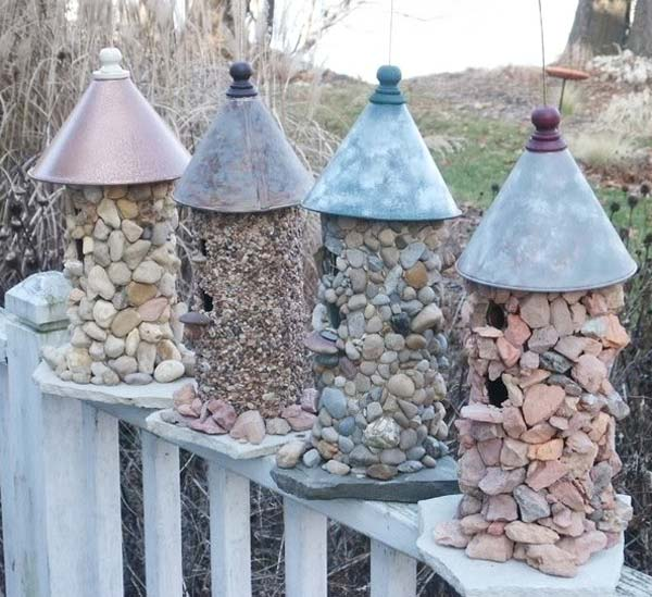 20+ Fabulous DIY Garden Decorating Ideas with Pebbles and Stones19