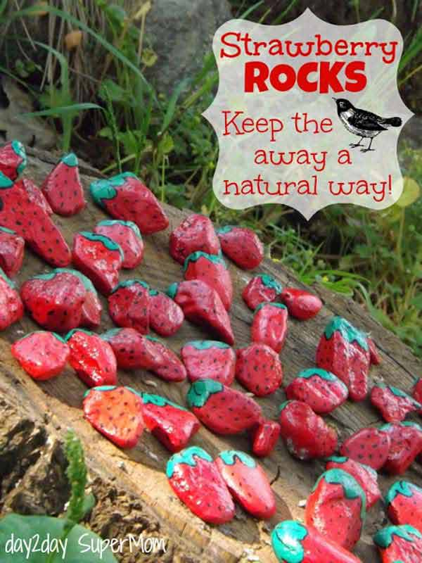 20+ Fabulous DIY Garden Decorating Ideas with Pebbles and Stones24