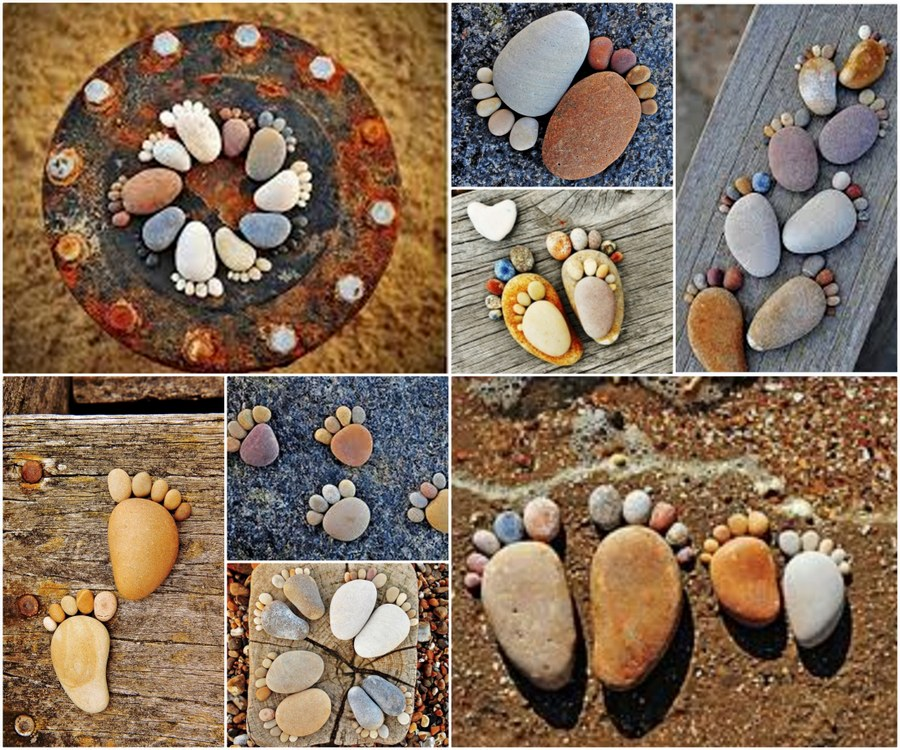 20 Fabulous DIY Garden Decorating Ideas With Rocks And