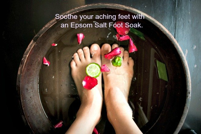 4 Effective Home Remedies for Sore, Cracked and Stinky Feet4