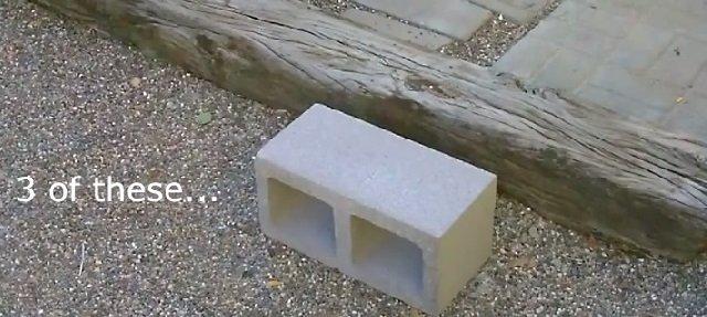 DIY Concrete Block Dual Burner Rocket Stove2