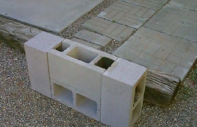 DIY Concrete Block Dual Burner Rocket Stove5