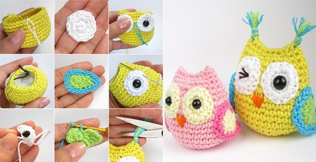DIY Crocheted Owls Free Patterns1