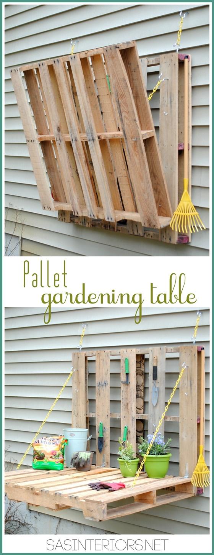 DIY Outdoor Pallet Furniture 25