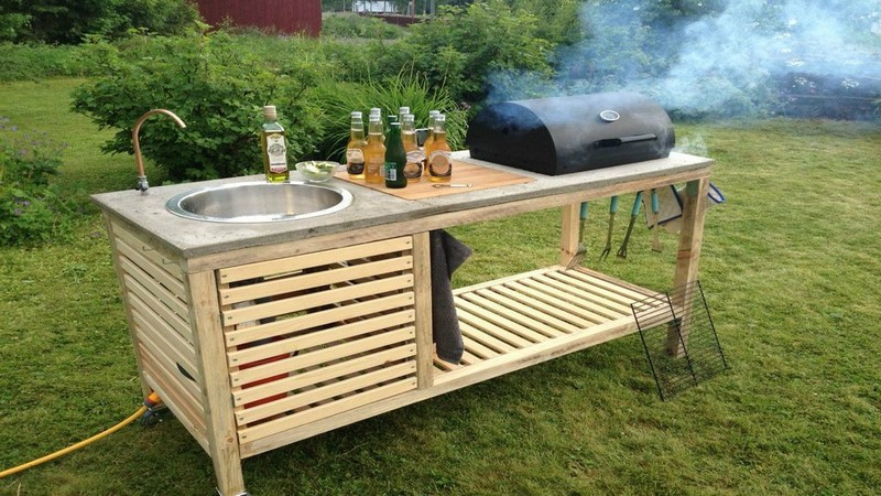 How To Diy Your Own Portable Outdoor Kitchen