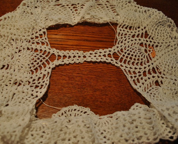 Fab Art DIY Crochet Lace Short Free Pattern - crotch