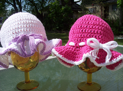 Easy Crochet Summer Hat Pattern Free : Crochet Summer Sun Hat Free Pattern