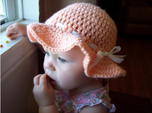 Easy Crochet Summer Hat Pattern Free : 20+ Fab Art DIY Crochet Girl s Sun Hat with Pattern www ...
