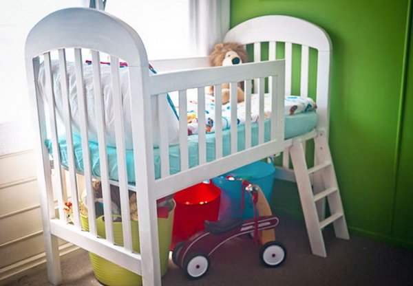 Fab Art DIY Furnitures from Repurposed Baby Cribs0