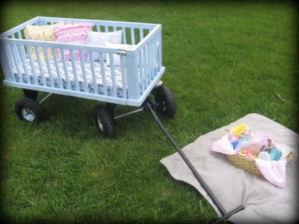 Fab Art DIY Furnitures from Repurposed Baby Cribs10