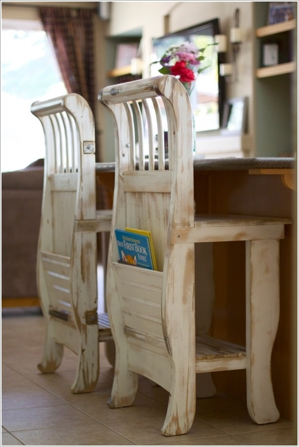Fab Art DIY Furnitures from Repurposed Baby Cribs16