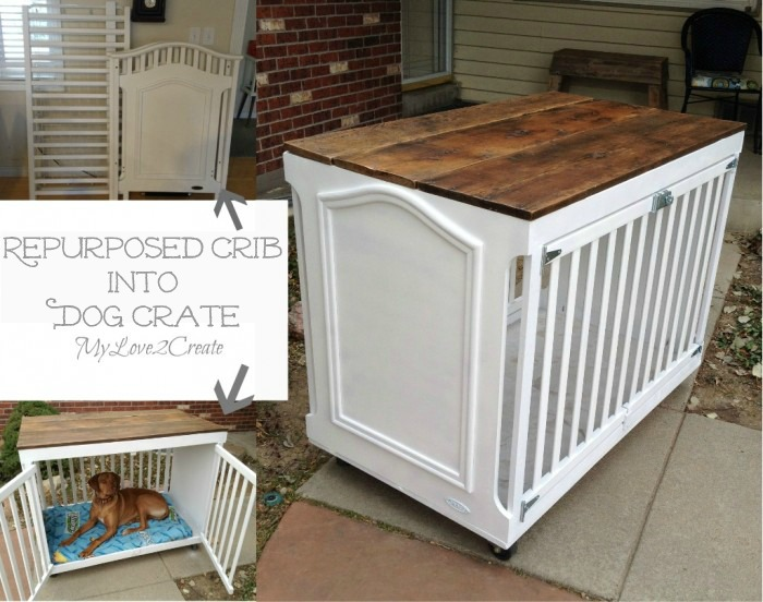 Fab Art DIY Furnitures from Repurposed Baby Cribs18