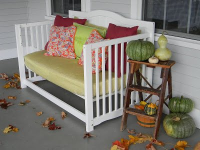 Fab Art DIY Furnitures from Repurposed Baby Cribs2