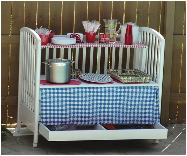 Fab Art DIY Furnitures from Repurposed Baby Cribs4
