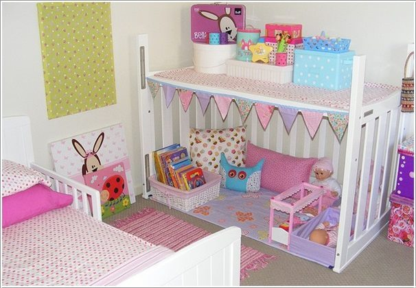 Fab Art DIY Furnitures from Repurposed Baby Cribs9