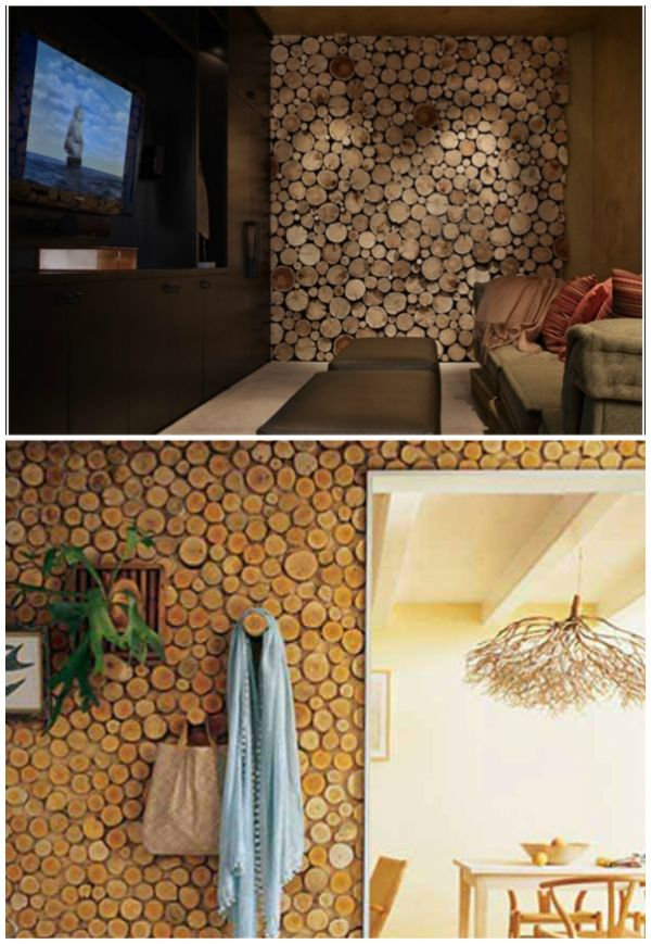 20 Diy Rustic Log Decorating Ideas For Home And Garden