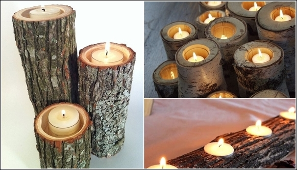 Fab Art DIY Rustic Log Decorating Ideas for Home and Garden10