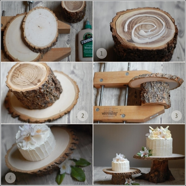 Fab Art DIY Rustic Log Decorating Ideas for Home and Garden14