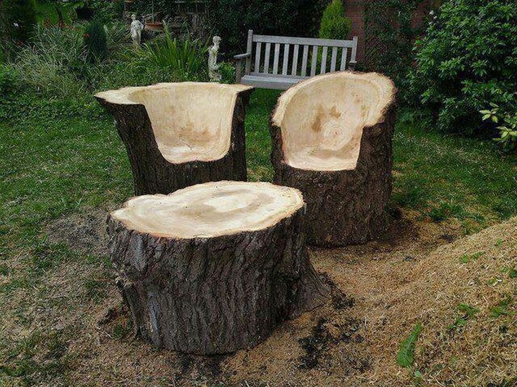 Fab Art DIY Rustic Log Decorating Ideas for Home and Garden30