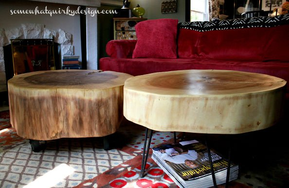 Fab Art DIY Rustic Log Decorating Ideas for Home and Garden4