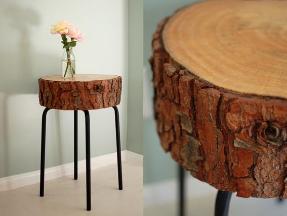 Fab art diy log home garden decor ideas www fabartdiy for Log ideas