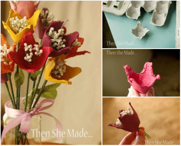 Fab Art DIY Upcycled Egg Carton Decorating Ideas and Tutorials 13