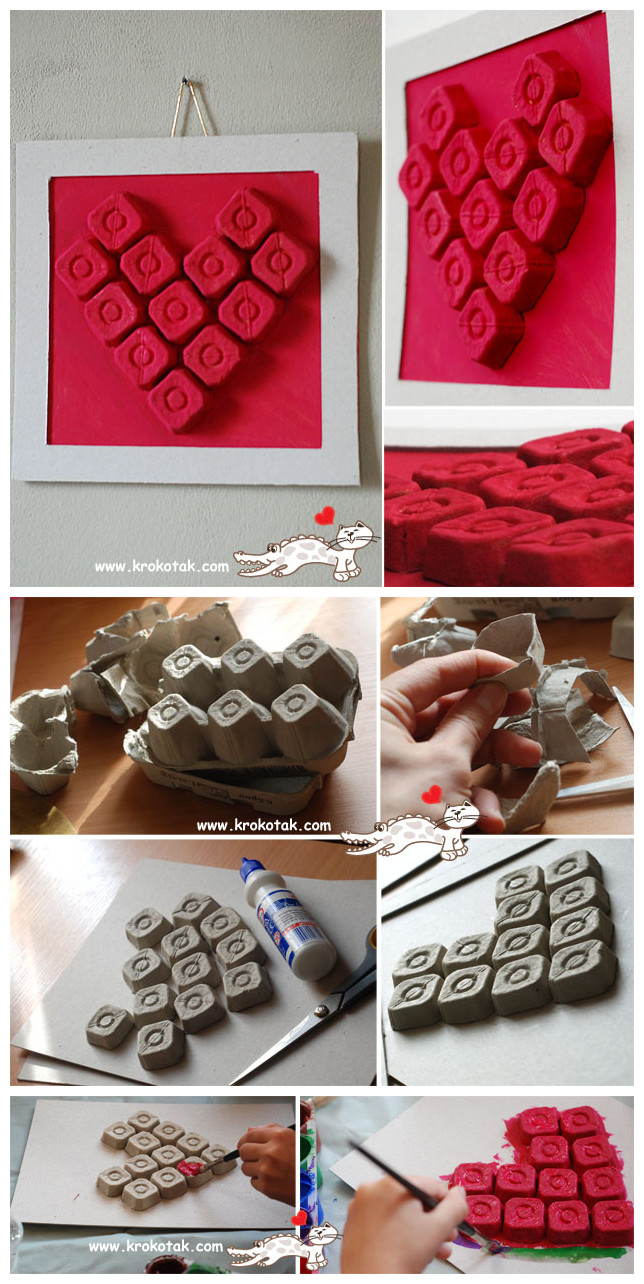 Fab Art DIY Upcycled Egg Carton Decorating Ideas and Tutorials 15