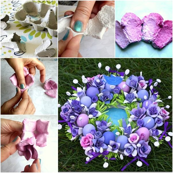 Fab Art DIY Upcycled Egg Carton Decorating Ideas and Tutorials08
