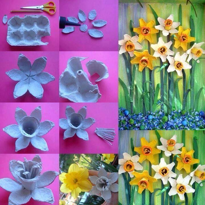 Fab Art DIY Upcycled Egg Carton Decorating Ideas and Tutorials12