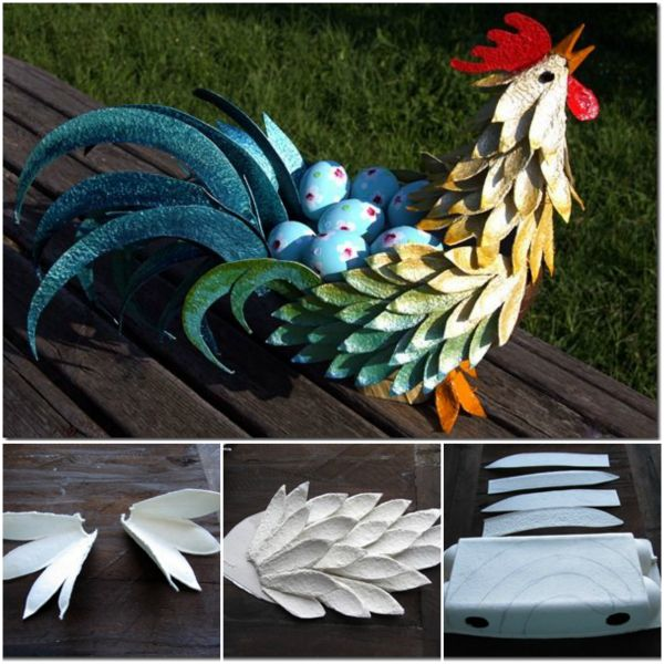 Fab Art DIY Upcycled Egg Carton Decorating Ideas and Tutorials18